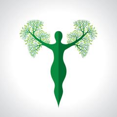 environmental care vector