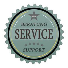 ql33 QualityLabel - Beratung Service Support - türkis g1808