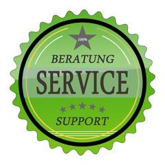 ql34 QualityLabel - Beratung Service Support - grün g1809
