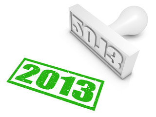 2013 Rubber Stamp