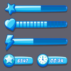 Game ice energy time progress bar