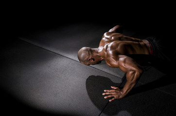 Guy Pushup © Mark