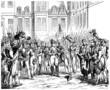 Napoleon : Adieux à Fontainebleau - year 1814