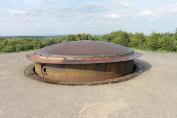 155mm gun turret WW1 French Fort Douaumont