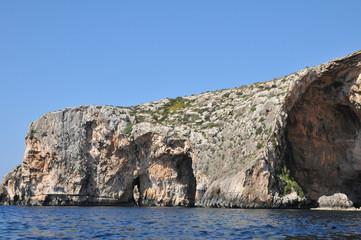 Malta, the picturesque site of Blue Grotto
