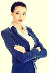 Portrait of young businesswoman