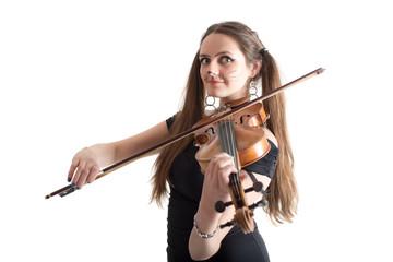 cat violinist