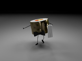 Sushi serveur