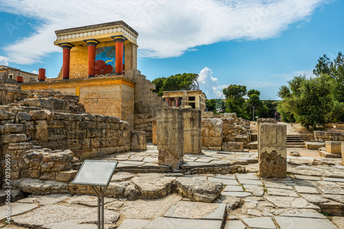 Leinwanddruck Bild Crete,Greece