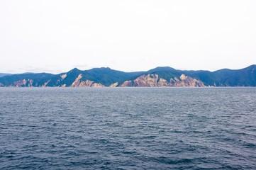 opposite shore