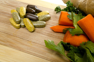 Vitamins and Vegetables