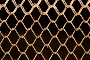 Background of the metal mesh