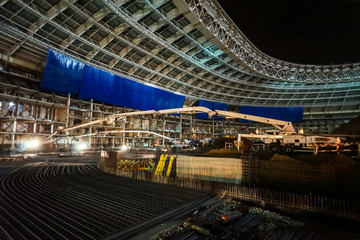 Great sport stadium construction