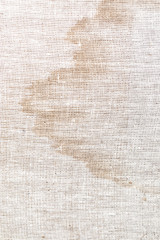 stains on the old fabric