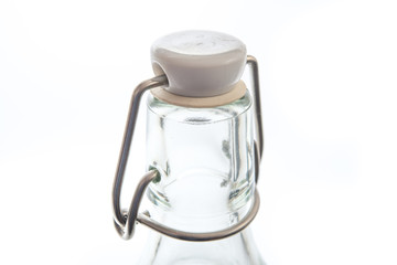 Flaschenhals mit Bügelverschluss