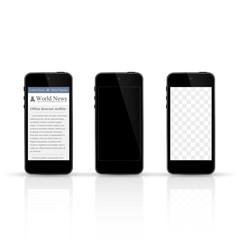 smartphone blank, smartphone transparent screen