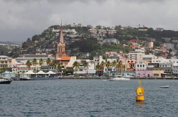 Embankment Fort-de-France, Martinique