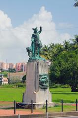 Monument to Columbus. Fort-de-France, Martinique