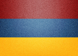 Denim Armenia flag