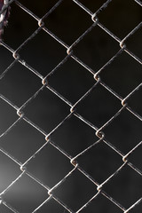 background of old metal grid