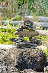 A Stack of Balanced Stones