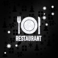 noble restaurant symbol with stars