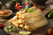 Homemade Corn and Chicken Tamales - 70737347