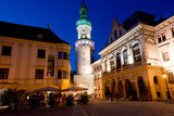 The main square in Sopron