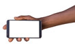 Hand holding smart phone with blank screen - 70738393
