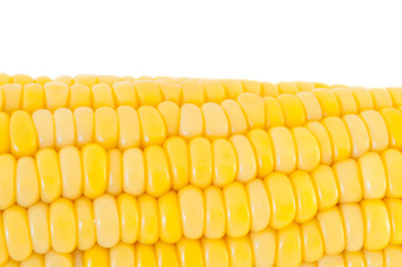macro texture of corn panicle
