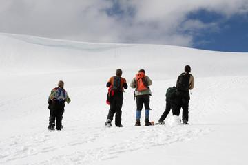 Snowshoeing, Mt. Rainier