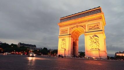 Paris, Etoile Roundabout
