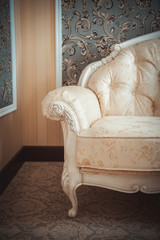 Sofa, part of the classical interior