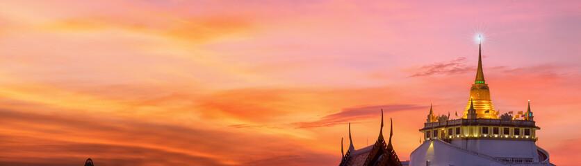 The Golden Mount at Wat Saket