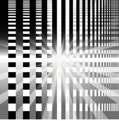 Ray checkerboard theme black and white background
