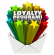 canvas print picture - Loyalty Program Envelope Invitation Marketing Advertising Mailer