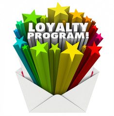 Loyalty Program Envelope Invitation Marketing Advertising Mailer