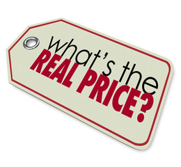 Whats the Real Price Tag Cost Expense Investment