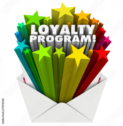 canvas print picture Loyalty Program Envelope Invitation Marketing Advertising Mailer