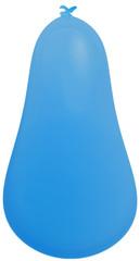 ballon bleu forme poire