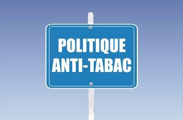 panneau politique anti-tabac