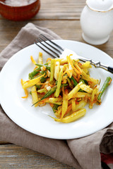 side dish of green beans