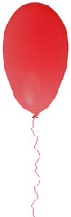 ballon rouge avec fil