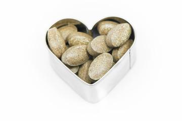 Vitamin Pills on heart