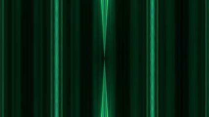 abstract loop motion background, green light