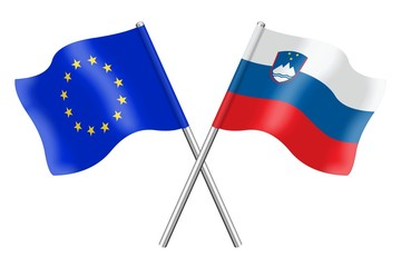 Flags: Europe and Slovenia