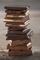 Piles of chocolate3