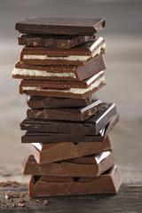 Piles of chocolate3