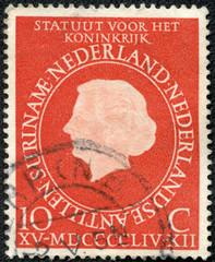 stamp printed in Netherlands Antilles