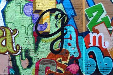 Street art - alphabet